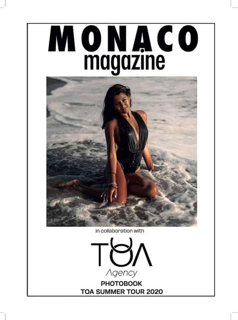 Cover Monaco Magazine Issue 4 swimsuit